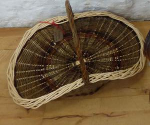 Granary Bowl  -  Janice Hall,  Flower/ Harvest Basket,  WillowBest exhibit in the handicrafts section.
