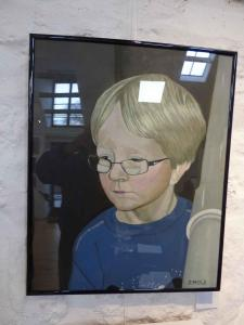 Commended  -  John Mole,  Portrait of a Boy,  Oils