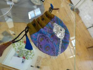 Elaine Edwardson, Mandala Locket, Stirling Silver.