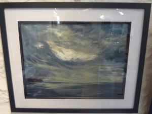 Joann Russell, Dark Skies over Stranraer Acrylic