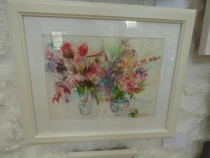 Laura Abbott, Summer Flowers, Watercolour & Ink