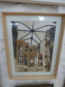 Rhian Hunter, St Marys Church Organ, Mixed Media