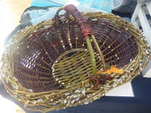 Janice Hall, Easter Basket, Fresh Willow.